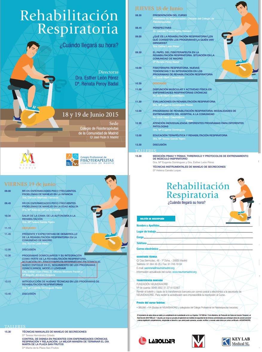 Programa Curso de Rehabilitación Respiratoria