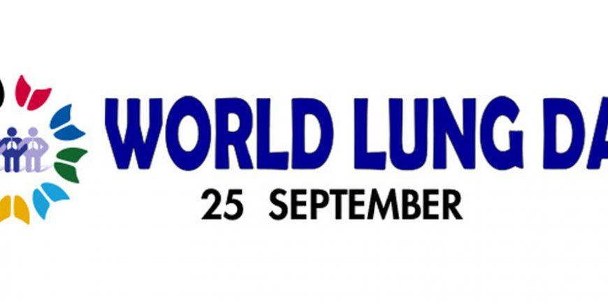 Día Mundial del Pulmón